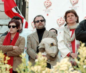 con Lidia Ravera e Pamela Villoresi