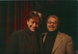 con Massimo Wertmuller