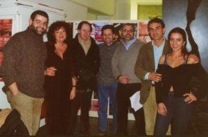 con Cerlino, Battaglini, Manfridi, Isidori, Erba.